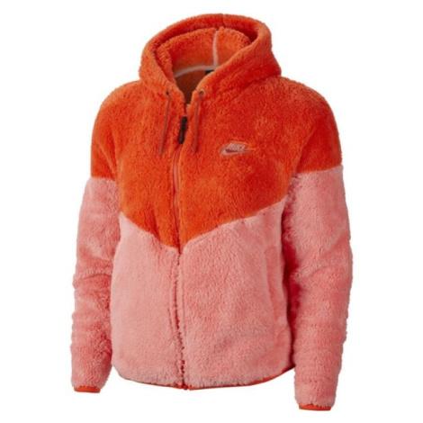 Nike NSW WR JKT WINTER W oranžová - Dámska mikina