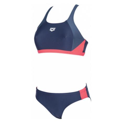 Arena REN TWO PIECES tmavo modrá - Dámske dvojdielne plavky
