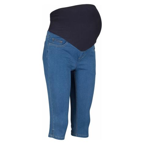 Tehotenské capri džínsy bonprix