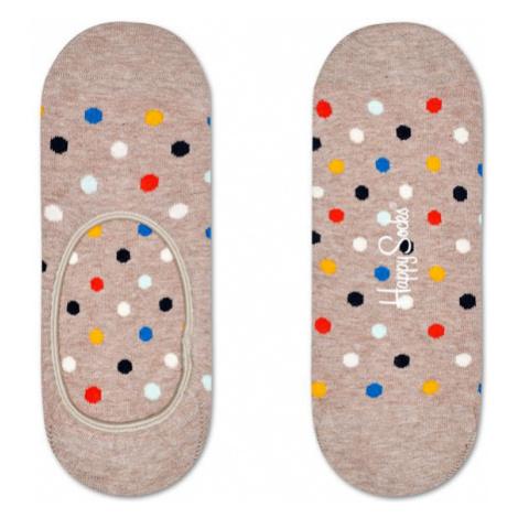 Happy Socks Dot Liner Sock-S-M (36-40) svetlohnedé DOT06-1301-S-M (36-40)