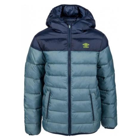 Umbro KIPP tmavo modrá - Detská prešívaná bunda