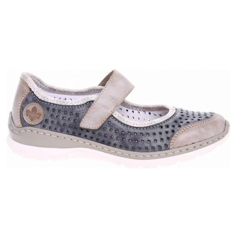 Dámská obuv Rieker L32B5-42 blau kombi L32B5-42