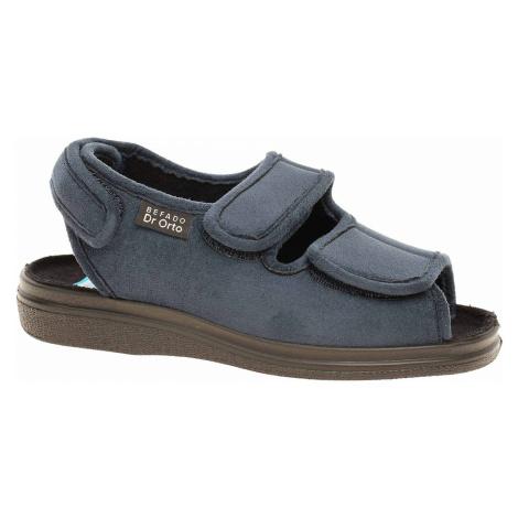 Domácí obuv Befado 676D003 modrá 676D003