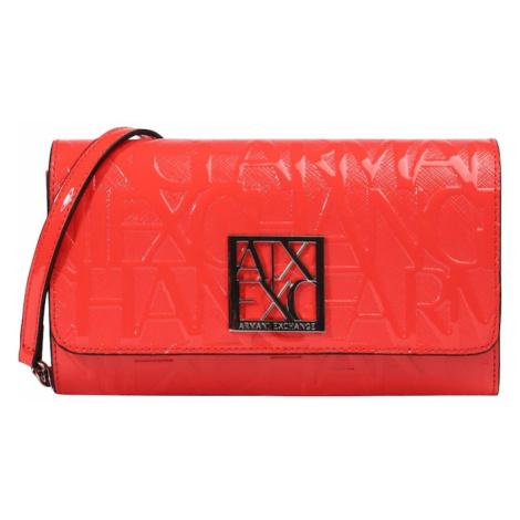 ARMANI EXCHANGE Listová kabelka  červená