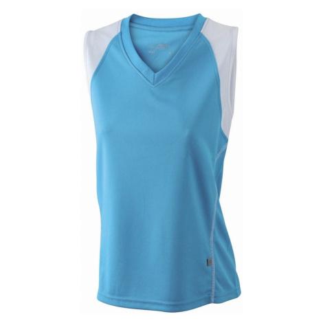 Dámske športové tričká James & Nicholson