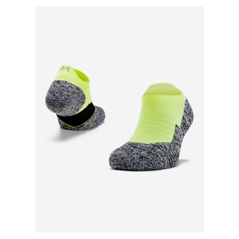 Ponožky Under Armour Run Cushion Ns Tab Žltá
