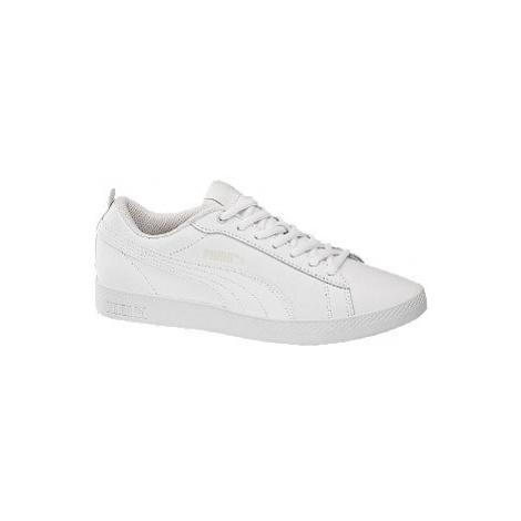 Biele tenisky Puma Smash