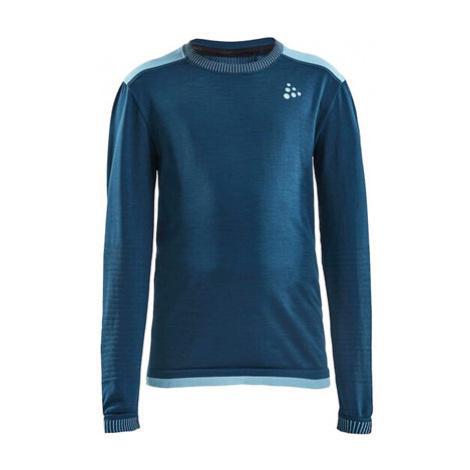 Detské Tričko Craft Fuseknit Comfort Junior Tmavo Modré