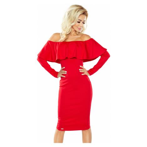 Dámske šaty 156-2 red NUMOCO