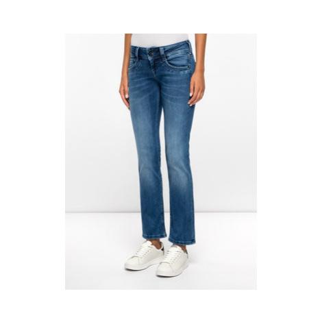 Pepe Jeans Džínsy Regular Fit PL201157GS10 Tmavomodrá Straight Fit