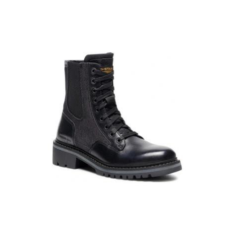 G-Star Raw Členková obuv Core Boot II D18015-8690-990 Čierna