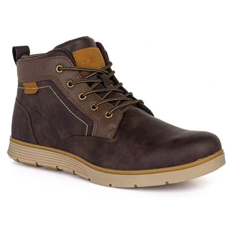 ONICS men's winter boots brown LOAP
