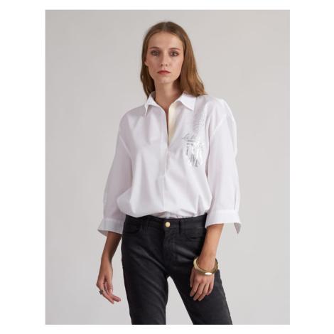 Košeľa La Martina Woman Shirt Long Sleeves Silky