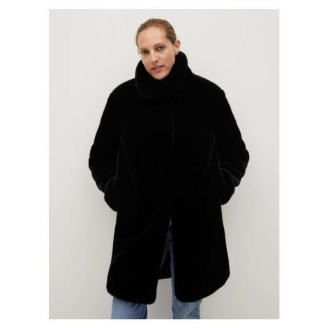 Mango Chillin Black Coat