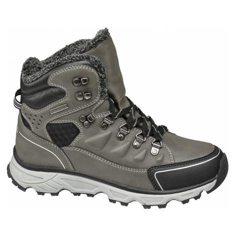 Fila - Sivá zimná členková obuv s TEX membránou Fila