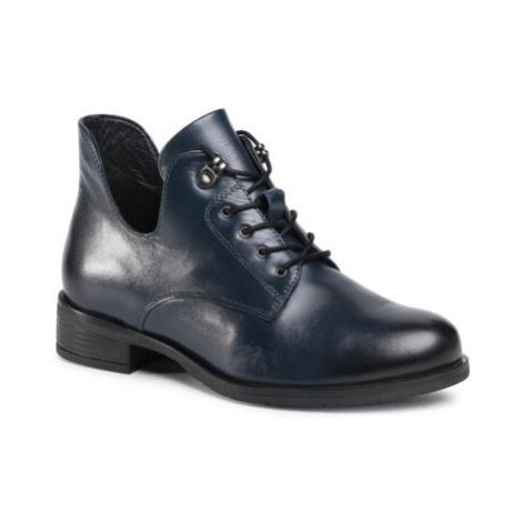 Šnurovacia obuv Lasocki WI23-CIDA-03 Prírodná koža(useň) - Lícova