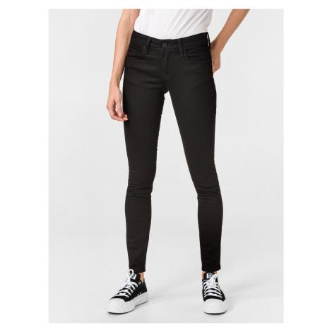 Colette Skinny Jeans Salsa Jeans Čierna
