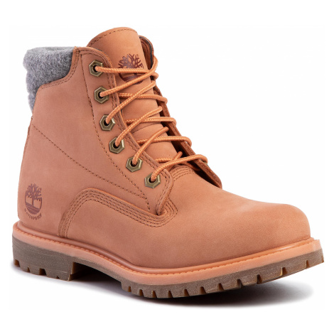 Outdoorová obuv TIMBERLAND - Waterville 6 In Waterproof Boot TB0A26G3X891 Lt Orange Nubuck