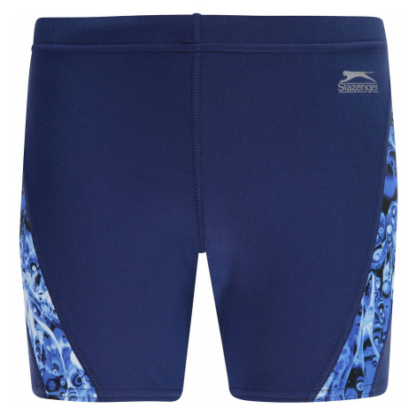 Slazenger Curve Panel Jammers Swim Shorts Junior