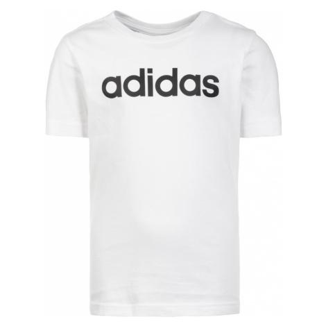 ADIDAS PERFORMANCE Funkčné tričko 'Essentials Linear'  biela / čierna