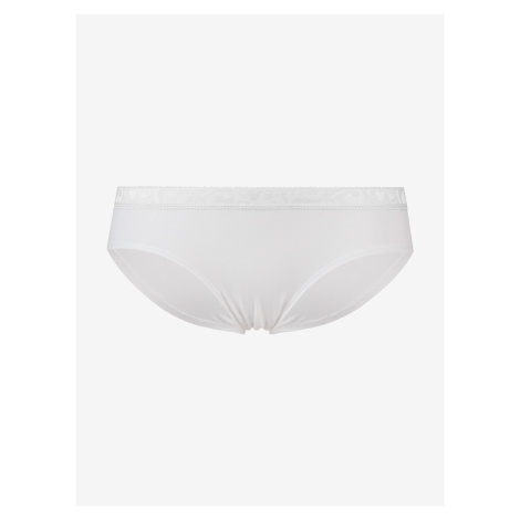 Hiphuggers Solid White Kalhotky Represent Biela