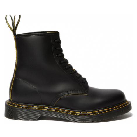 Dr. Martens 1460 Double Stitch Leather Ankle Boots-12 čierne DM26100032-12 Dr Martens