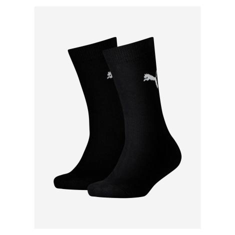 Ponožky Puma Easy Rider Jr 2 Pack Čierna