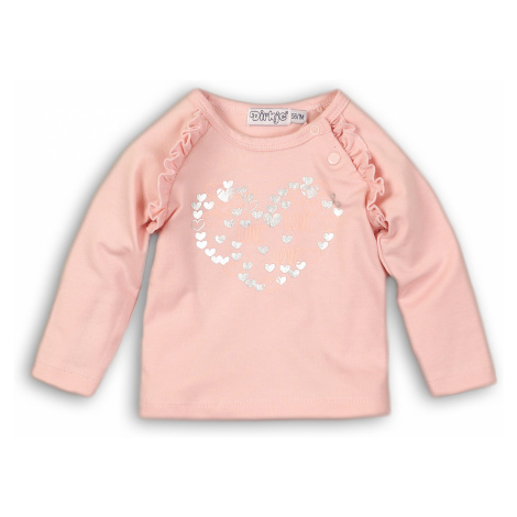 DIRKJE Tričko dlhý rukáv B-SO SOFT LOVE 68 Pink