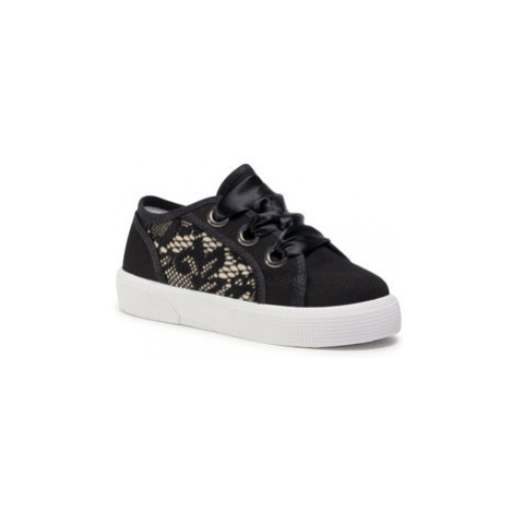 Guess Sneakersy Piuma Lace FI7PIL FAB12 Čierna