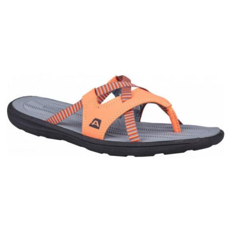ALPINE PRO RUSTY oranžová - Dámske žabky
