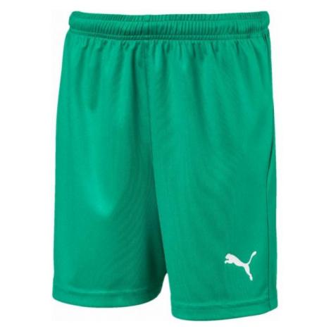 Puma LIGA SHORTS CORE JR zelená - Detské športové šortky