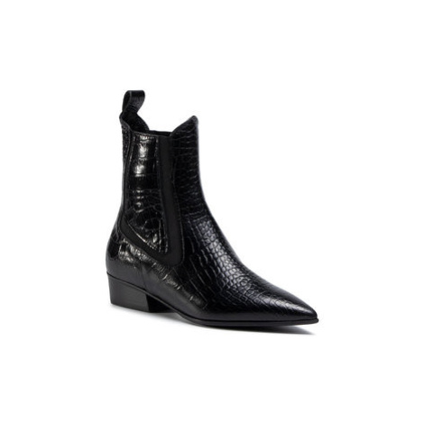 Eva Longoria Členková obuv s elastickým prvkom EL-04-02-000185 Čierna