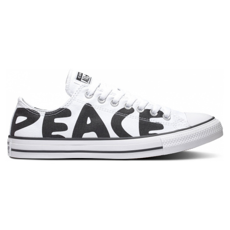 Converse Chuck Taylor All Star Peace Powered Lo White-11 biele 167894C-11