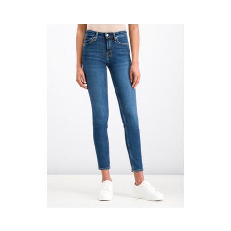 Calvin Klein Jeans Skinny Fit džínsy J20J207775 Tmavomodrá Slim Fit