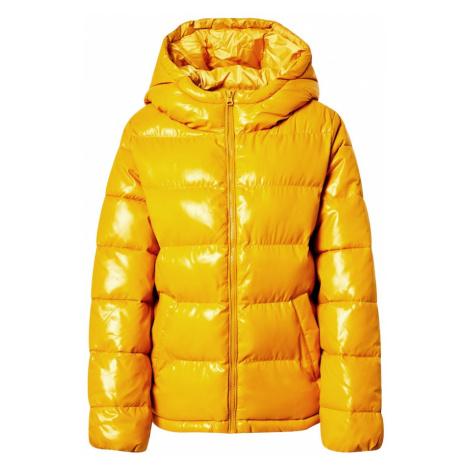 UNITED COLORS OF BENETTON Zimná bunda  žltá