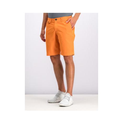 Helly Hansen Bavlnené šortky Hh Bermuda 33940 Oranžová Regular Fit