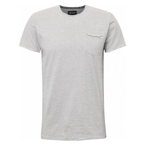 Cars Jeans Tričko 'TORRENT'  biela / grafitová