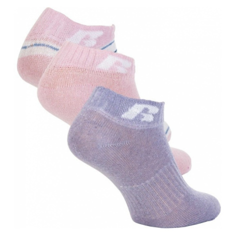 Russell Athletic KIDS ANKLE SOCK 3 PÁRY ružová - Detské ponožky