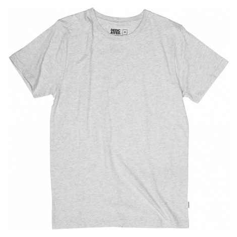 Dedicated T-shirt Stockholm Grey Melange-L šedé 16279-L
