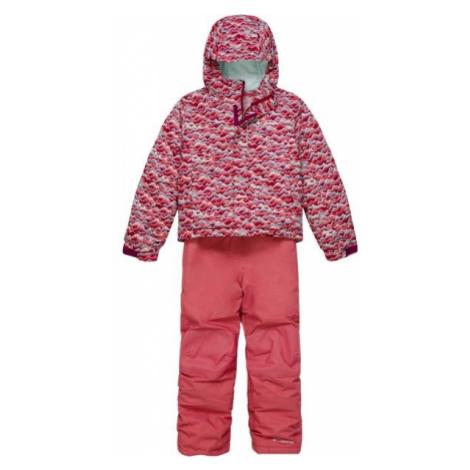 Columbia BUGA™ SNOW SET ružová - Detská zimná súprava