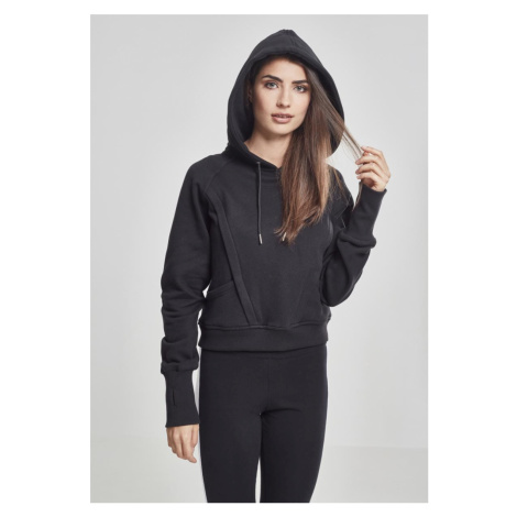 Dámska mikina URBAN CLASSICS Ladies Thumb hole Hoody black