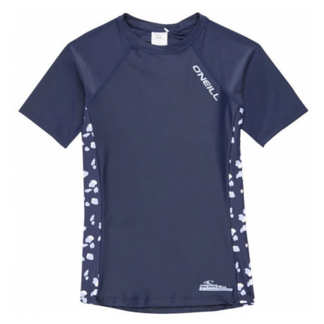 O'Neill PG PRINT S/SLV SKINS - Dievčenské tričko do vody