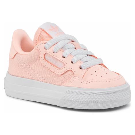 Topánky adidas - Continental Vulc El I EG6627 Cleora/Ftwwht/Cleora