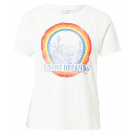 WRANGLER Tričko  biela / zmiešané farby