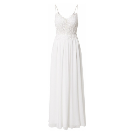 mascara Večerné šaty  biela