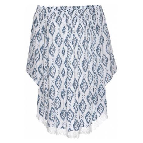 s.Oliver Plážové šaty  biela / modrá