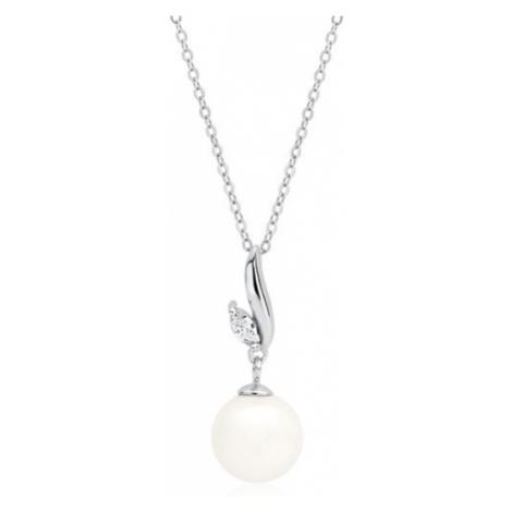 OLIVIE Strieborná retiazka s perlou 3286