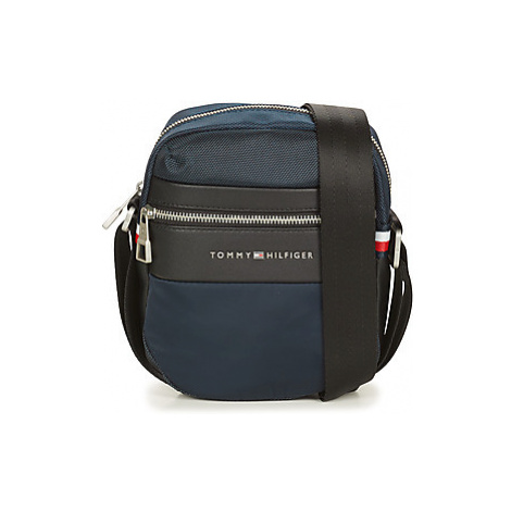 Tommy Hilfiger NYLON MIX MINI REPORTER Modrá