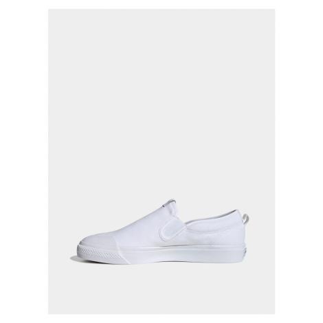 White men's slip on adidas Originals Nizza