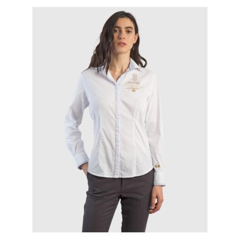 Košeľa La Martina Woman Shirt L/S Silky Poplin